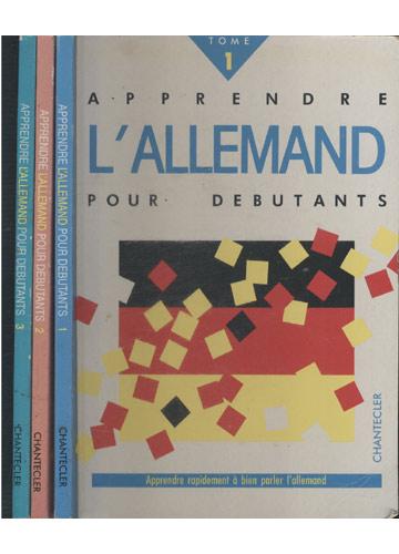 Apprendre L'allemand Pour Debutants - 3 Volumes