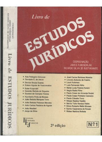 Livro de Estudos Jurídicos - Nº.1