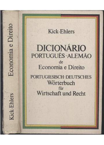 Economia e Direito - Dicionário Português-Alemão