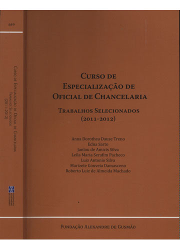 Curso de Especialização de Oficial de Chancelaria - 2011/2012