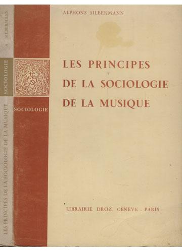 Les Principes de la Sociologie de la Musique