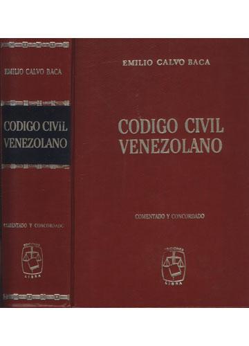 Código Civil Venezolano