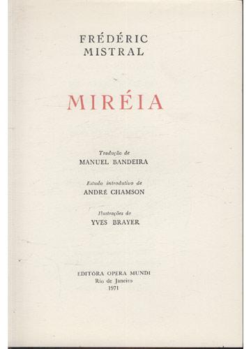 Prêmio Nobel de 1904 - Frédéric Mistral - Miréia