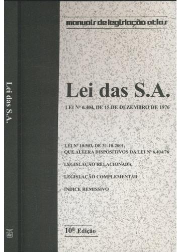 Lei das S.A.