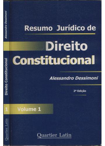 Direito Constitucional - Resumo Jurídico de Direito Constitucional