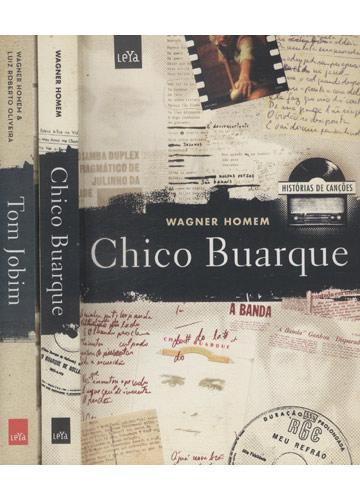 Chico Buarque/Tom Jobim - Histórias de Canções - Box - 2 volumes