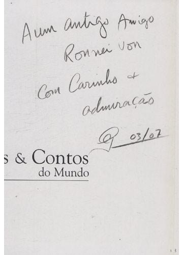 Fotos & Contos do Mundo - Com dedicatória do fotógrafo para o Ronnie Von