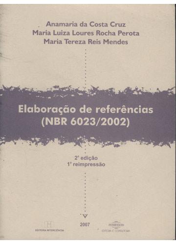 Elaboração de Referências - NBR 6023/2002