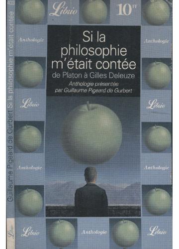 Si la Philosophie M´Était Contée