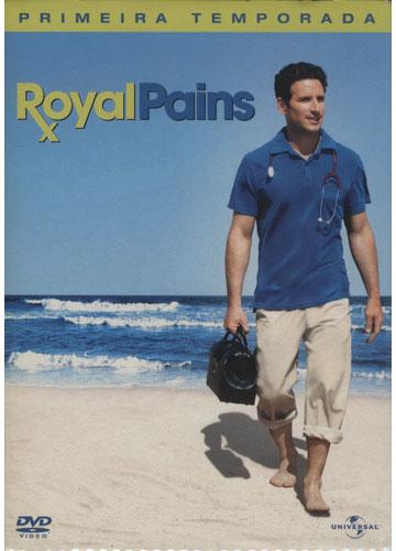 Royal Pains - Primeira Temporada *3 DVD's*