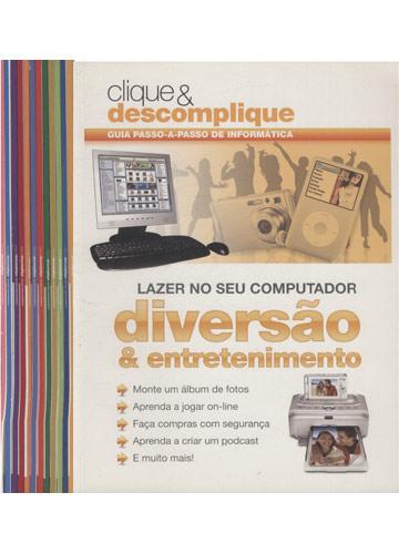 Clique & Descomplique - Guia Passo-a-Passo de informática - 12 Volumes