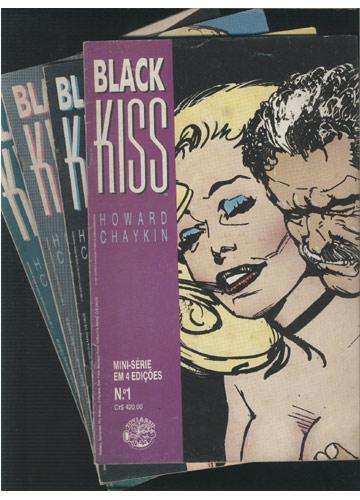 Black Kiss - Minissérie Completa em 4 Edições