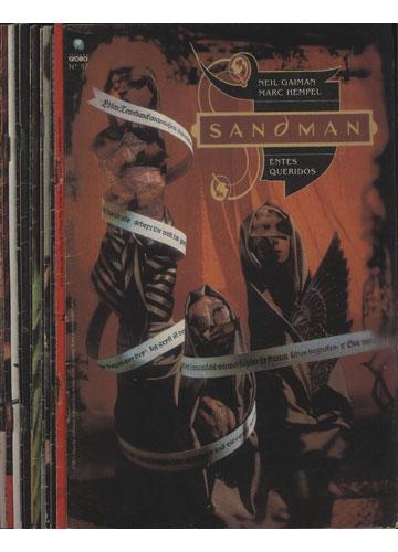 Sandman - Saga Entes Queridos - 13 Volumes