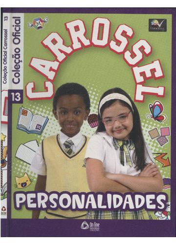 Coleção Oficial Carrossel - Nº 13 - Personalidades