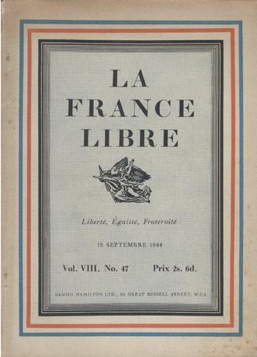 La France Libre - Volume VIII - Nº.47 - Prix 2s. 6d
