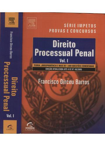 Direito Processual Penal - Volume I