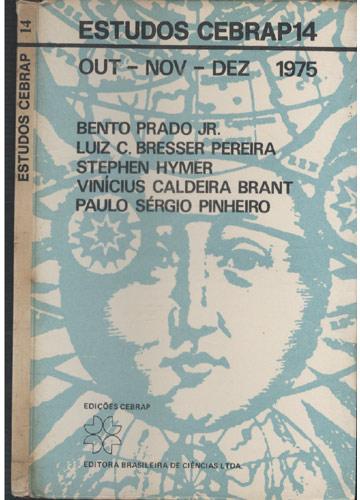 Estudos Cebrap - Volume 14