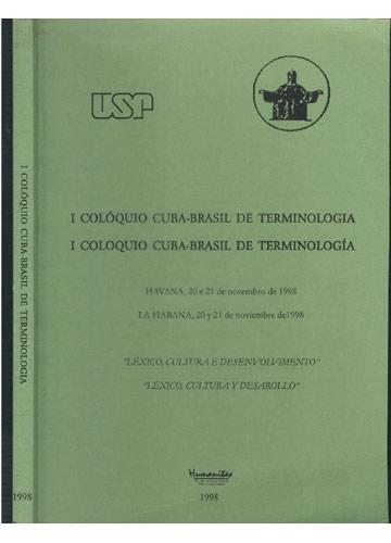 I Colóquio Cuba-Brasil de Terminologia