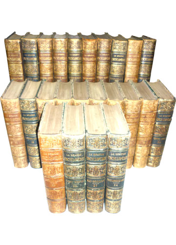 La Grande Encyclopédie - 24 Volumes - Incompleto