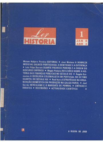 Ler História - Número 1 - Janeiro / Abril