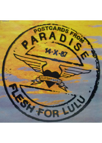 Flesh for Lulu - Postcards from Paradise - Single - *Importado Made In USA*