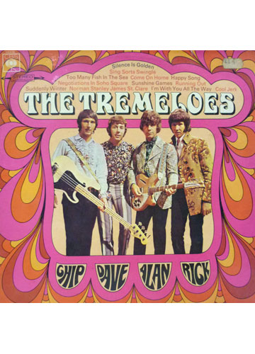 The Tremeloes - Chip Dale Alan and Rick *Importado Made In Germany*