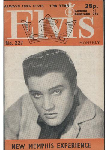 Elvis Monthly - 1978 - N°.227