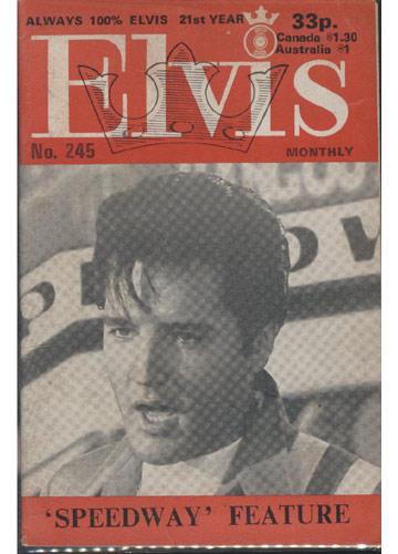 Elvis Monthly - 1980 - N°.245