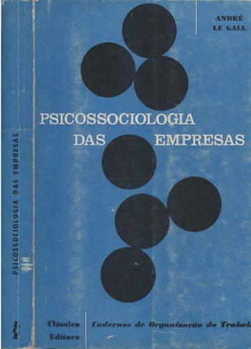 Psicossociologia das Empresas