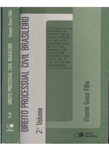 Direito Processual Civil Brasileiro - Volume 2