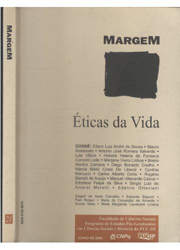 Margem - Nº 21 - Éticas da Vida