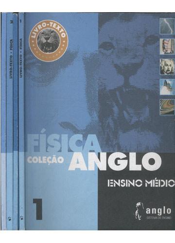 Coleção Anglo - Física - 2 Livros-Texto + 2 Cadernos de Exercícios