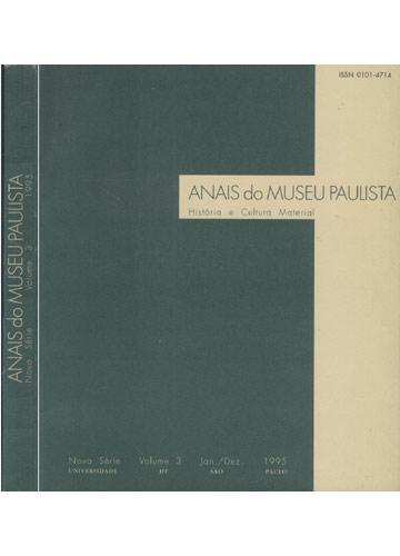 Anais do Museu Paulista - Nova Série - Volume 3 - Jan./Dez. - 1995