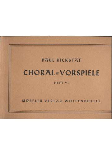 Choral - Vorspiele - Heft VI (Partituras)