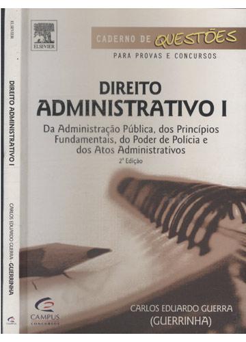 Direito Administrativo - Volume I