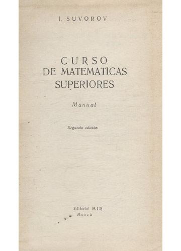 Matemáticas Superiores