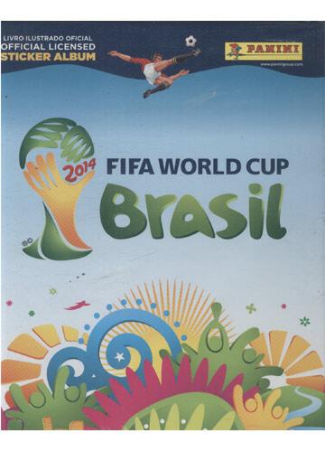 2014 Fifa World Cup Brasil (Álbum de Figurinhas Completo)