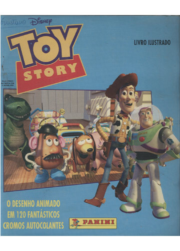 Toy Story - Livro Ilustrado (Álbum de Figurinhas Completo)