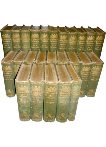 Coleção: Encyclopaedia Britannica - 24 Volumes + Índice
