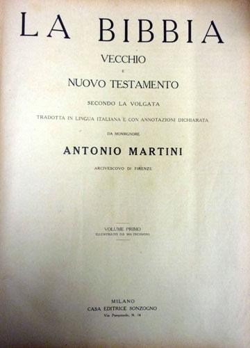 La Bibbia - Vecchio e Nuovo Testamento - 2 Volumes