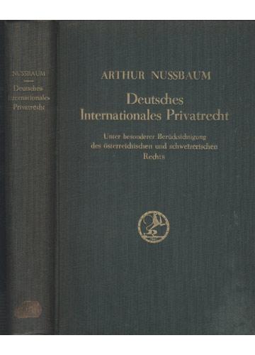 Deutsches Internationales Privatrecht