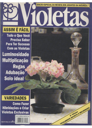 Natureza - Especial Violetas