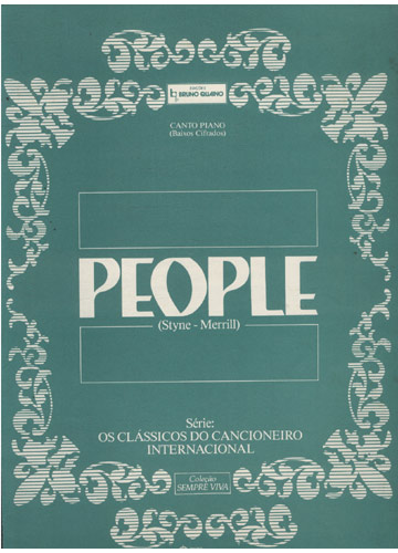 People (Partituras Canto e Piano)