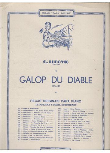 Galop du Diable - Op. 42 (Partituras Piano)