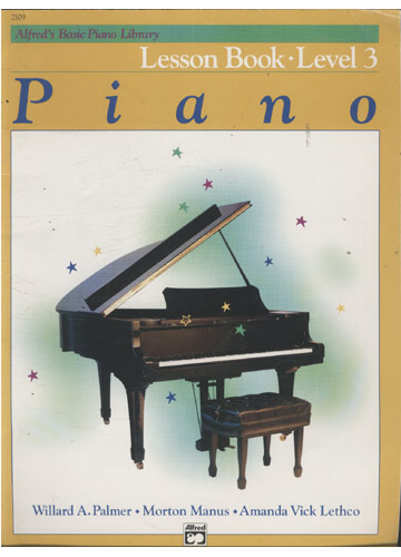 Piano - Lesson Book - Level 3 (Partituras Piano)