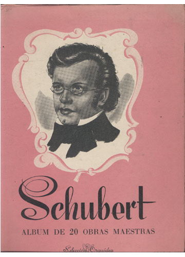 Schubert - Album de 20 Obras Maestras (Partituras Piano)