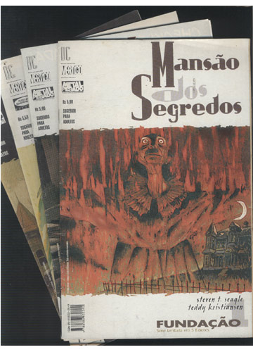 Mansão dos Segredos - 5 Volumes