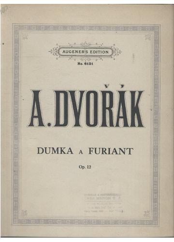 A. Dvorák - Dumka e Furiant (Partituras Piano)