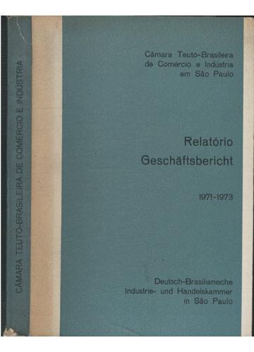 Câmara Teuto-Brasileira de Comércio e Indústria em São Paulo - Relatório Geschaftsbericht
