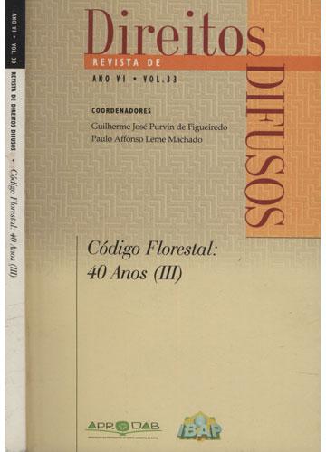 Revista de Direitos Difusos - Ano VI - Volume 33